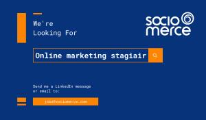 Online marketing & B2B lead generation stage